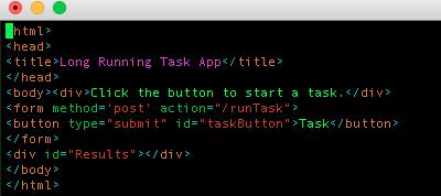 Asynchronous task execution with Flask, Celery and SocketIO